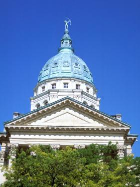 State Capital Building, Topeka, Kansas by Mark Gibson
