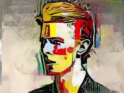 Picasso Reimagined - David Bowie by Mark Gordon