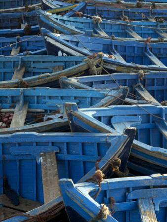 Morocco, Essaouira; the Traditional Fishing Port by Mark Hannaford
