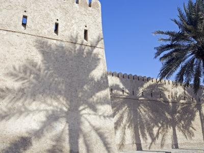 Traditional Mud Built Fort Overlooking Bay to Front of Small Town of Khasab, Oman by Mark Hannaford