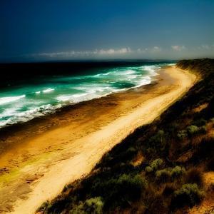A Golden Beach in Australia by Mark James Gaylard