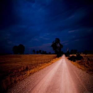 Road to Lake by Mark James Gaylard