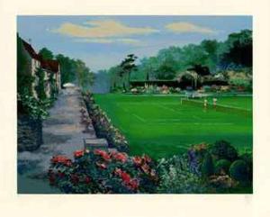 Lawn Tennis by Mark King