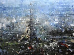 Blue Paris by Mark Lague