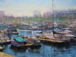 Chicago Harbor by Mark Lague