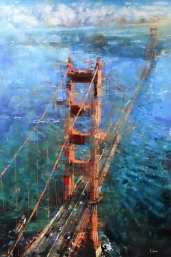 Golden Gate Sun by Mark Lague