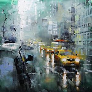 New York Rain by Mark Lague