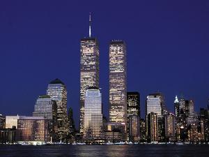 Attacks Trade Center by Mark Lennihan