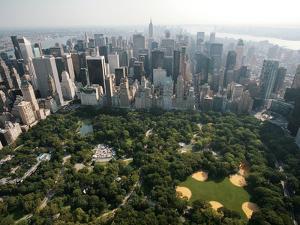 New York Aerial by Mark Lennihan
