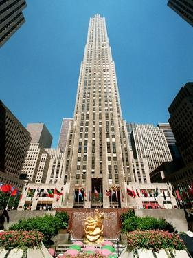 Rockefeller Center Sale by Mark Lennihan