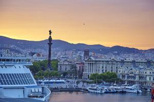 Barcelona Marina, Barcelona, Catalonia, Spain by Mark Mawson