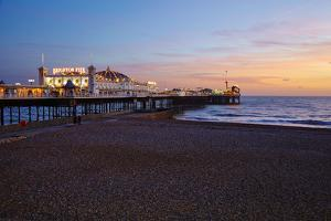 Brighton Pier, Brighton, Sussex, England, United Kingdom, Europe by Mark Mawson