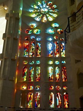 Sagrada Familia, UNESCO World Heritage Site, Barcelona, Catalonia, Spain, Europe by Mark Mawson