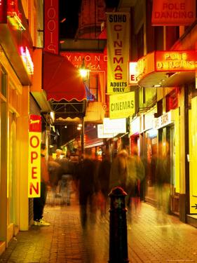 Sex Shops, Soho, London, England, United Kingdom by Mark Mawson