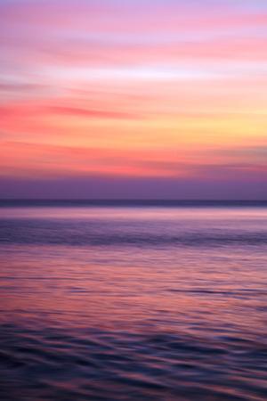 Sunrise on the Mediterrannean Sea, Collioure, Languedoc-Roussillon, France, Mediterranean, Europe by Mark Mawson