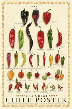 The Great Chile Poster – Fresh by Mark Miller