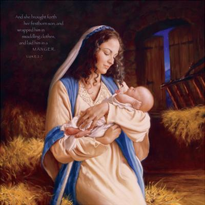 Heaven's Perfect Gift - Manger by Mark Missman