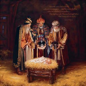 Wise Men Still Seek Him - Prince of Peace by Mark Missman