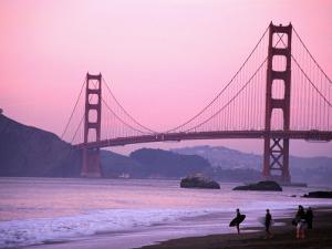 Golden Gate Bridge, San Francisco, California by Mark Newman