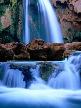 Havasu Falls, Havasupai Indian Reservation, Grand Canyon National Park, Arizona by Mark Newman