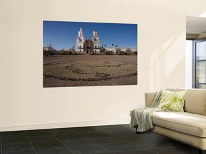 San Xavier Del Bac Mission by Mark Newman
