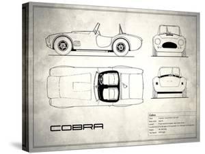 AC Cobra White by Mark Rogan