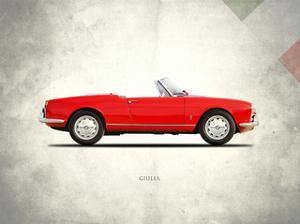 Alfa-Romeo Giulia Spider 1964 by Mark Rogan
