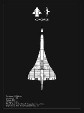 BAE Concorde Black by Mark Rogan