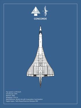 BAE Concorde by Mark Rogan