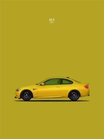 BMW M3 E92 Yellow by Mark Rogan