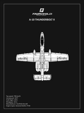 BP A-10 Thunderbolt 2 Black by Mark Rogan