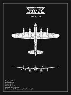 BP Avro Lancaster Black by Mark Rogan