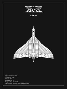 BP Avro Vulcan Black by Mark Rogan