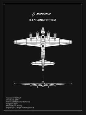 BP B17 FlyingFortress Black by Mark Rogan