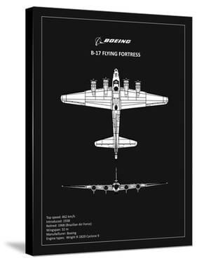 BP B17 FlyingFortress Black by Mark Rogan
