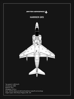 BP BAE HarrierGR5 Black by Mark Rogan