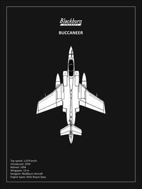 BP Blackburn Buccaneer Black by Mark Rogan