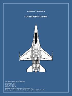 BP F-16 Fighting Falcon by Mark Rogan
