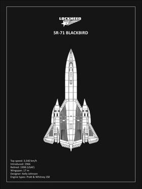 BP LOCKHEED SR-71 Black by Mark Rogan