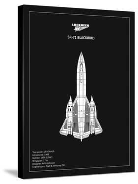 BP LOCKHEED SR-71 Black by Mark Rogan