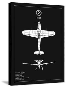 BP Messerschmitt ME 109 Black by Mark Rogan
