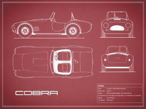 Cobra-Maroon by Mark Rogan