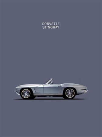 Corvette 1965 Grey by Mark Rogan