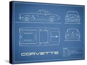 Corvette 33BHP-Blue by Mark Rogan