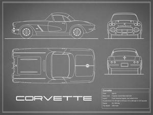 Corvette 33BHP-Grey by Mark Rogan
