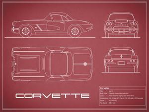 Corvette 33BHP-Maroon by Mark Rogan