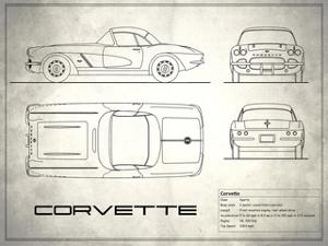 Corvette 33BHP White by Mark Rogan