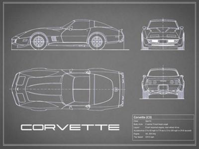 Corvette C3-Grey by Mark Rogan