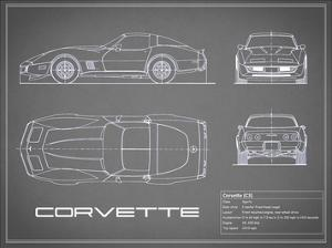 Corvette C3-Grey by Mark Rogan