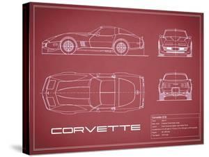 Corvette C3-Maroon by Mark Rogan